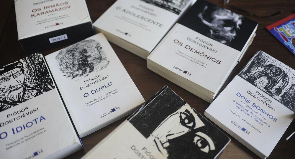 Livros de Dostoiévski