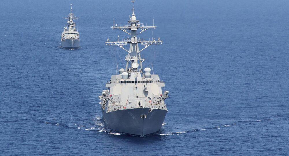 Destróier da Marinha dos EUA USS Pinckney