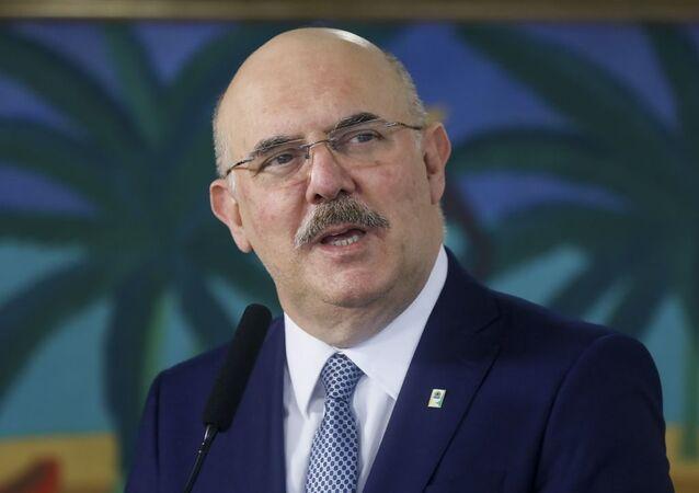 Novo ministro da Educação, Milton Ribeiro, toma posse em cerimônia no Palácio do Planalto