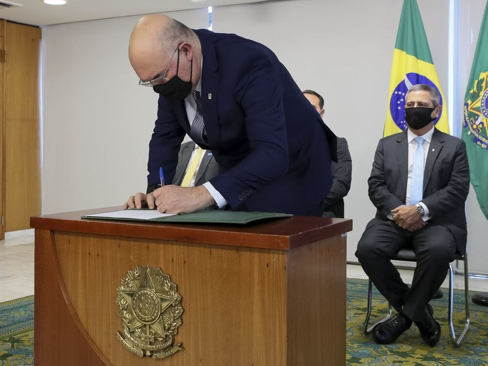 Cerimônia de posse do ministro da Educação, Milton Ribeiro