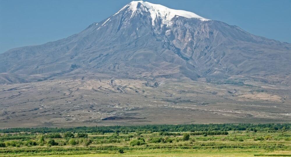 Foto do monte Ararat