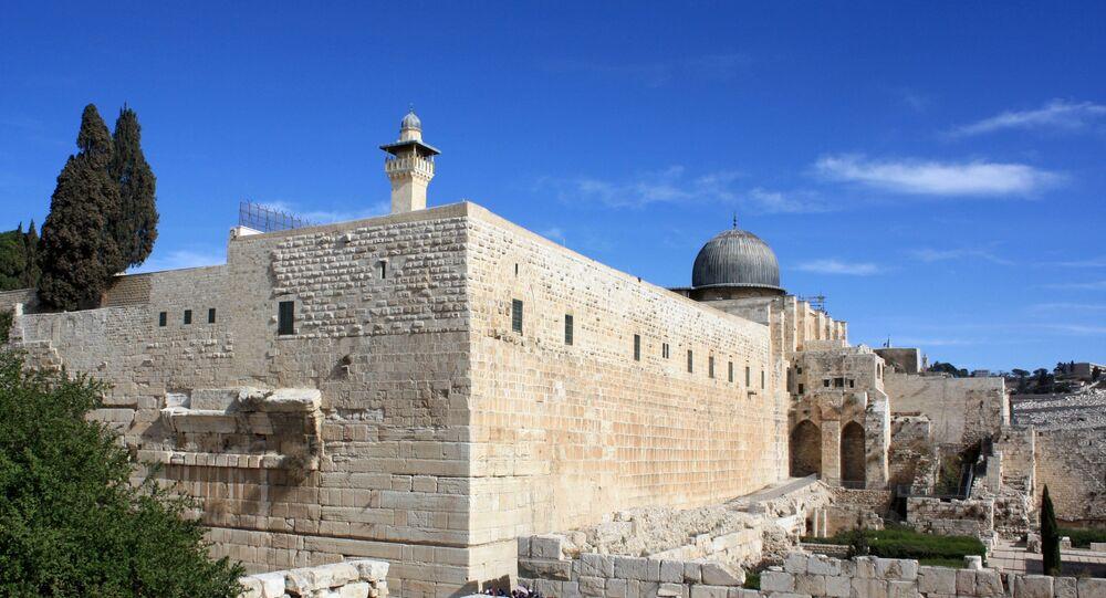 Foto de templo em Jerusalém