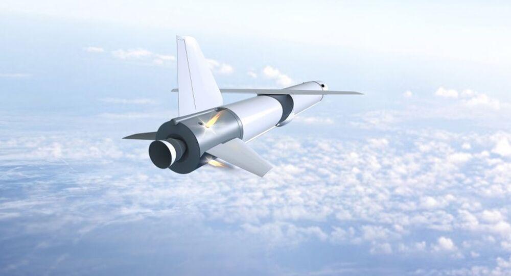 Ilustração do primeiro foguete portador reutilizável da Rússia Krylo-SV