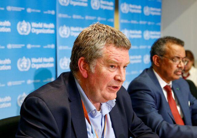 Diretor executivo da Organização Mundial de Saúde, Mike Ryan