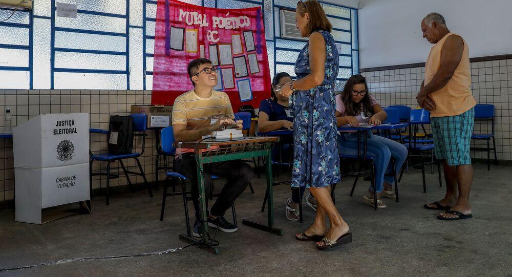 Eleições: cidadãos votam em Manus, no Amazonas