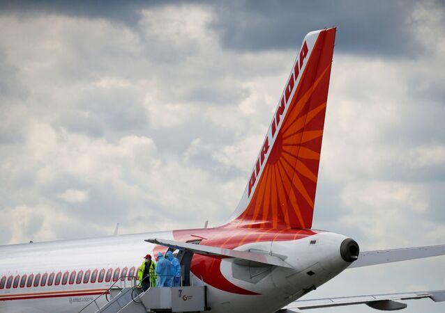 Airbus A320 da Air India.