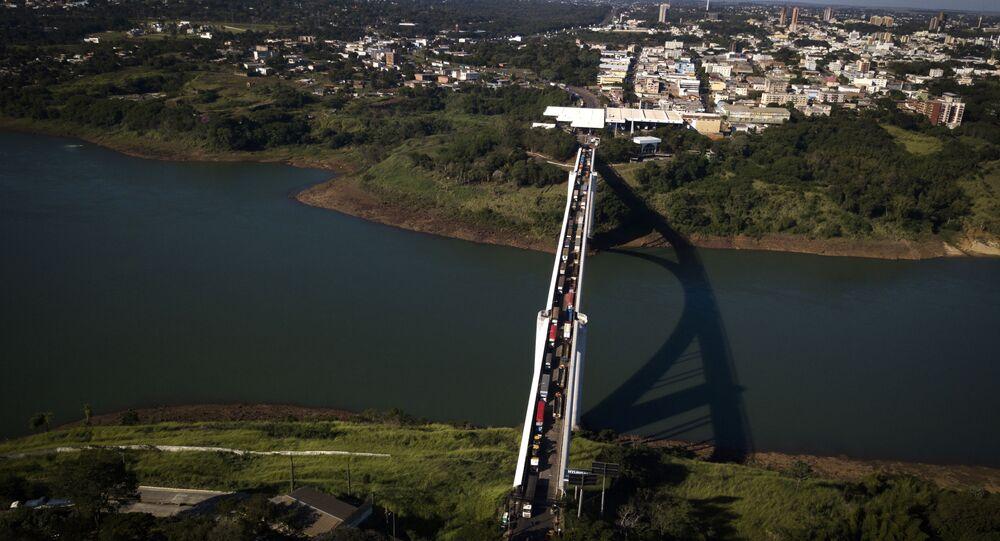 Ponte da Amizade entre Brasil e Paraguai
