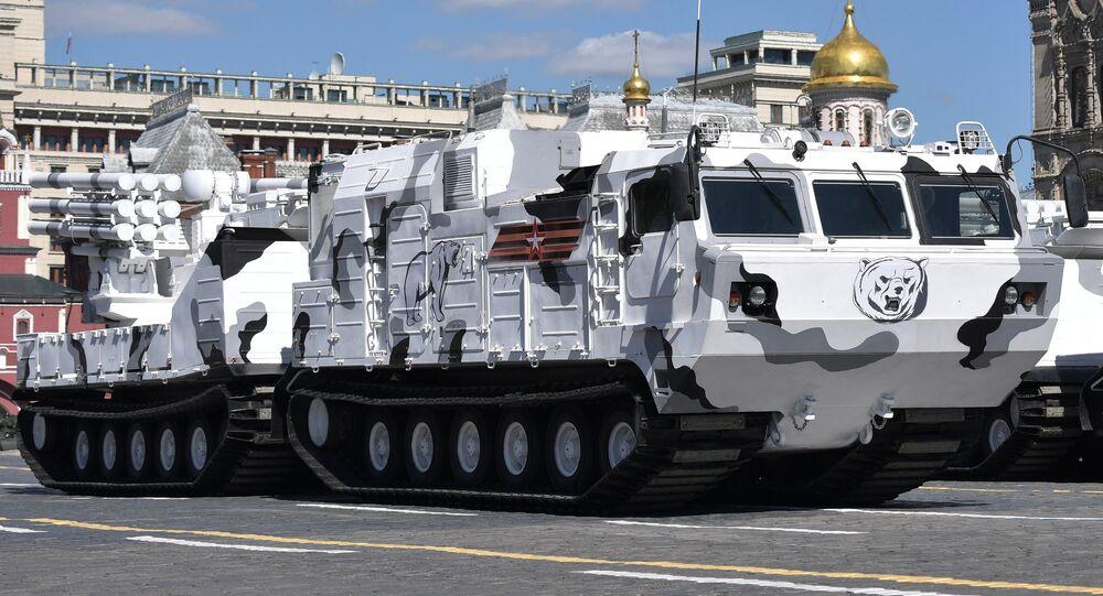 Sistema de defesa aérea Pantsir-SA