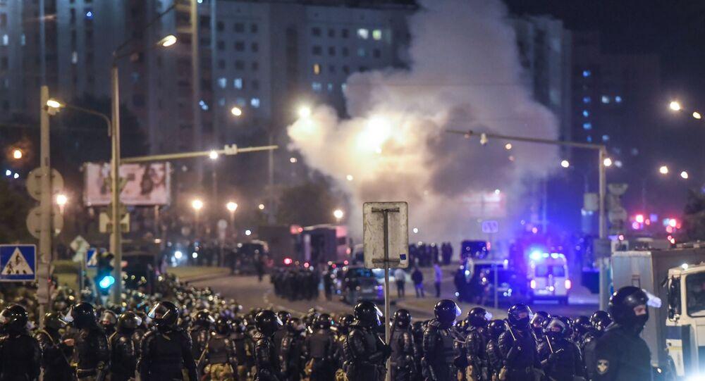 Protestos em Minsk