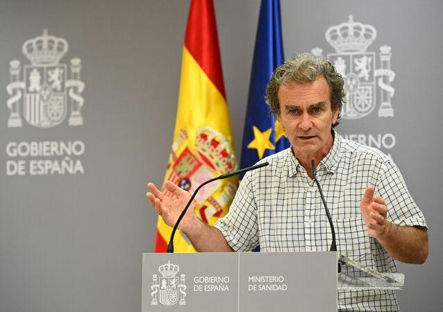 Fernando Simón, diretor do Centro de Coordenação de Alertas e Emergências da Espanha