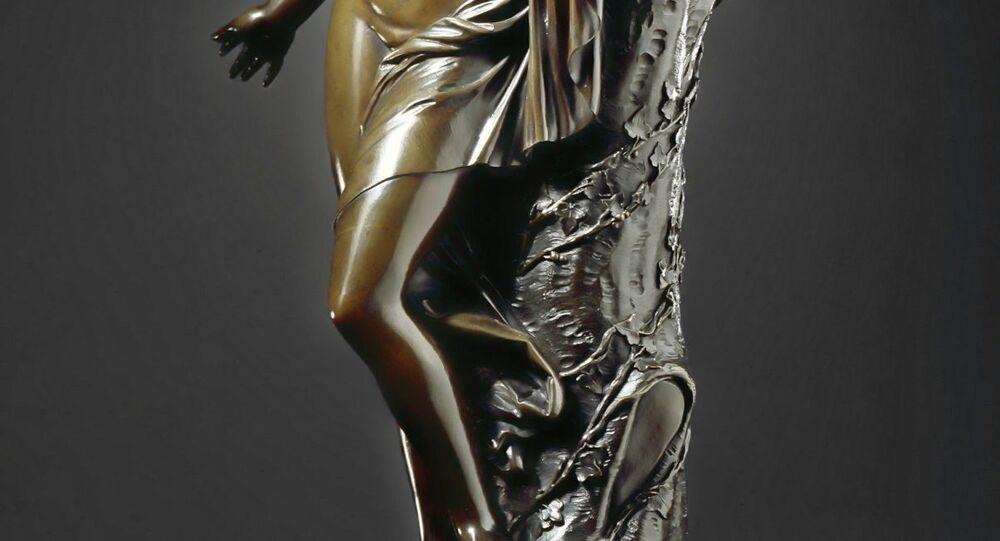 Escultura de Cleópatra
