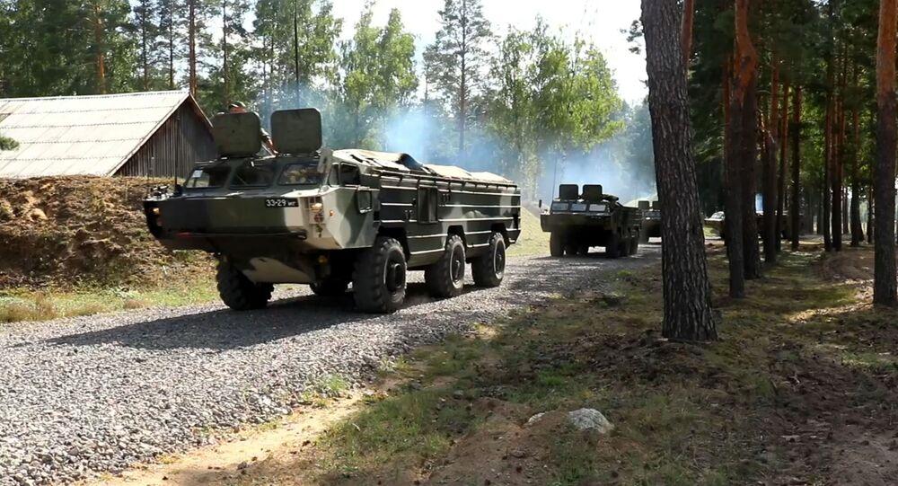 Veículos militares do Exército da Bielorrússia