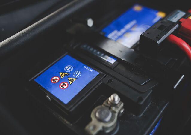 Foto de bateria (imagem referencial)
