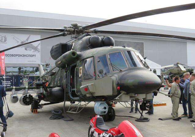 Novo helicóptero russo Mi-171Sh