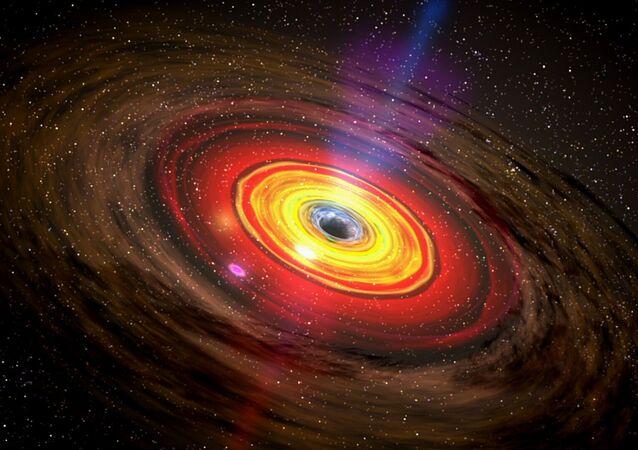 Buraco negro (imagem referencial)