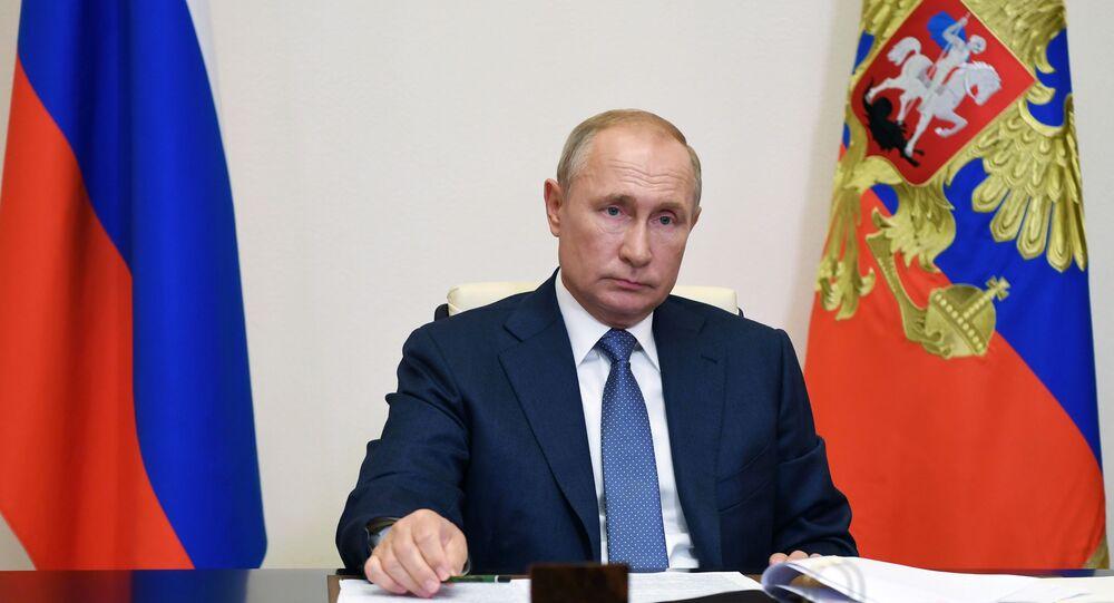 Presidente da Rússia Vladimir Putin (foto de arquivo)
