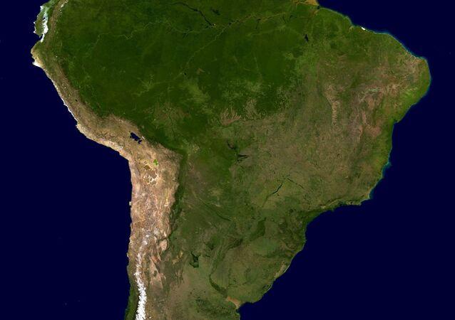 América do Sul (imagem referencial)