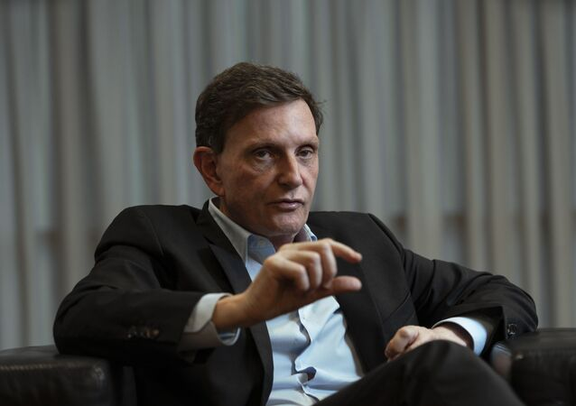 O prefeito do Rio de Janeiro, Marcelo Crivella