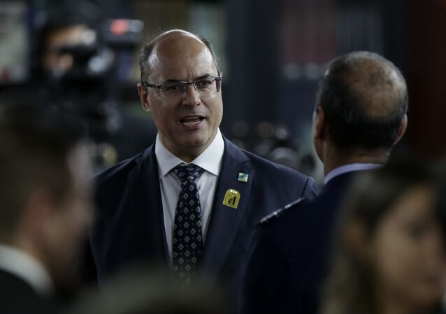 Governador afastado do Rio de Janeiro, Wilson Witzel (PSC)