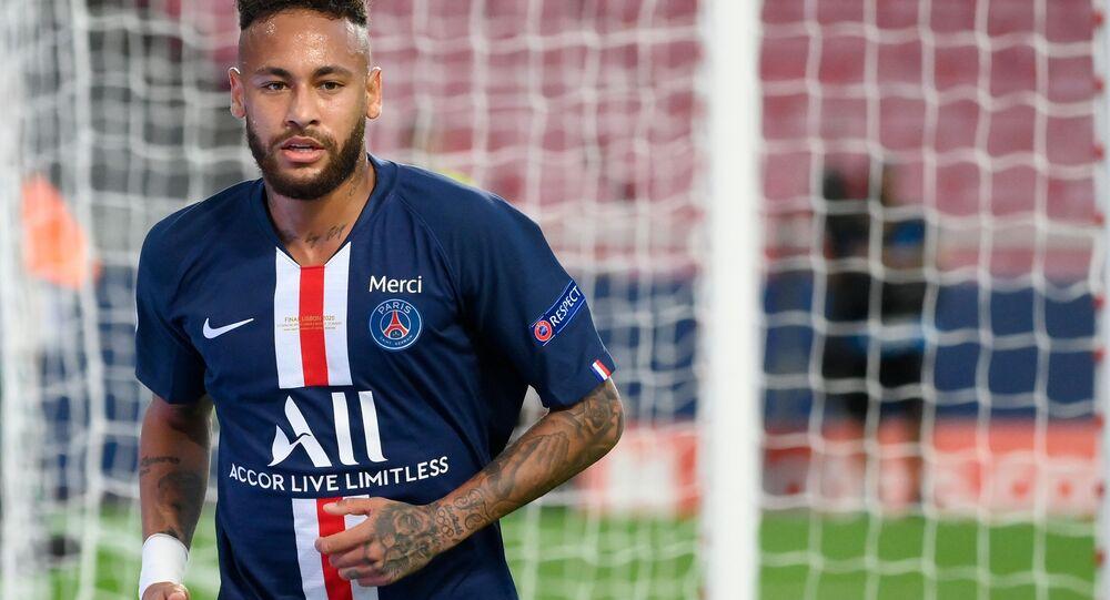 Jogador de futebol Neymar (foto de arquivo)
