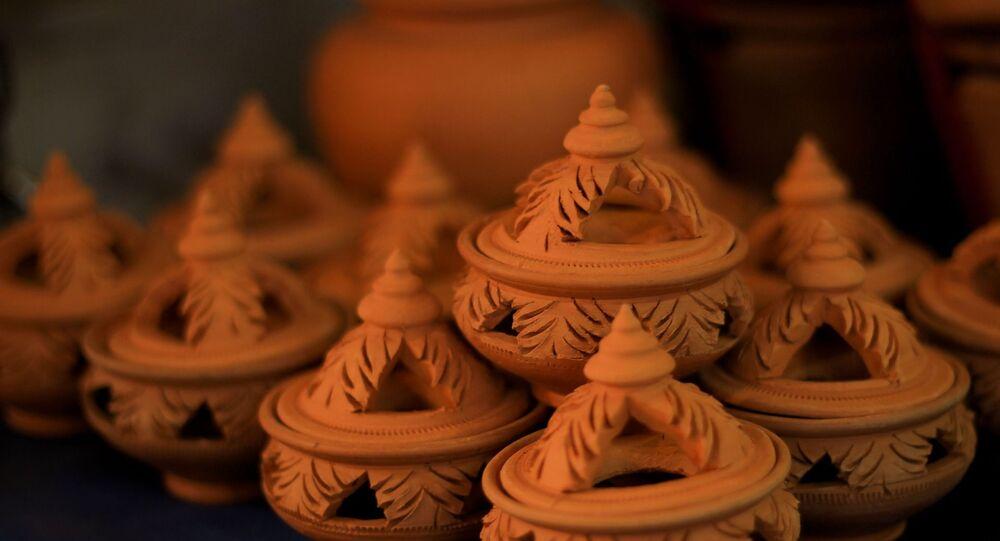 Objeto de cerâmica (imagem referencial)