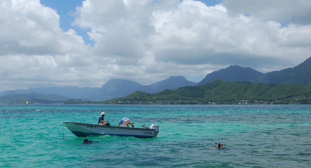 Barco em Palau (imagem referencial)
