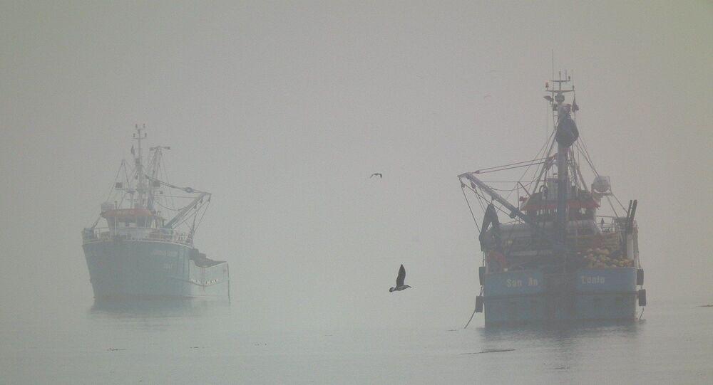 Navio fantasma (imagem referencial)