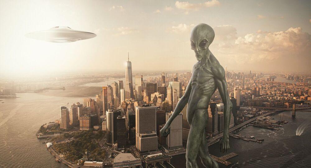 Alienígena (imagem referencial)