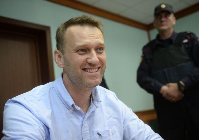 Opositor russo Aleksei Navalny (foto de arquivo)