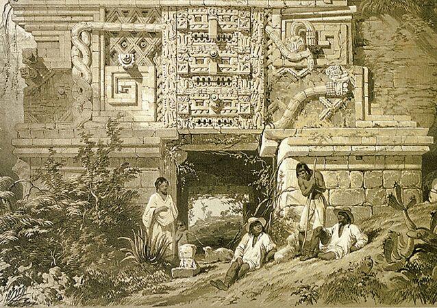 Monumento da cultura maia (imagem referencial)