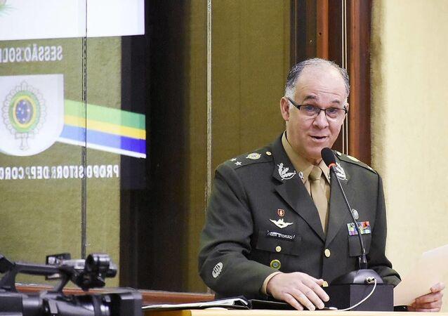 O general Carlos Augusto Fecury Sydrião Ferreira, chefe do Centro de Inteligência do Exército.