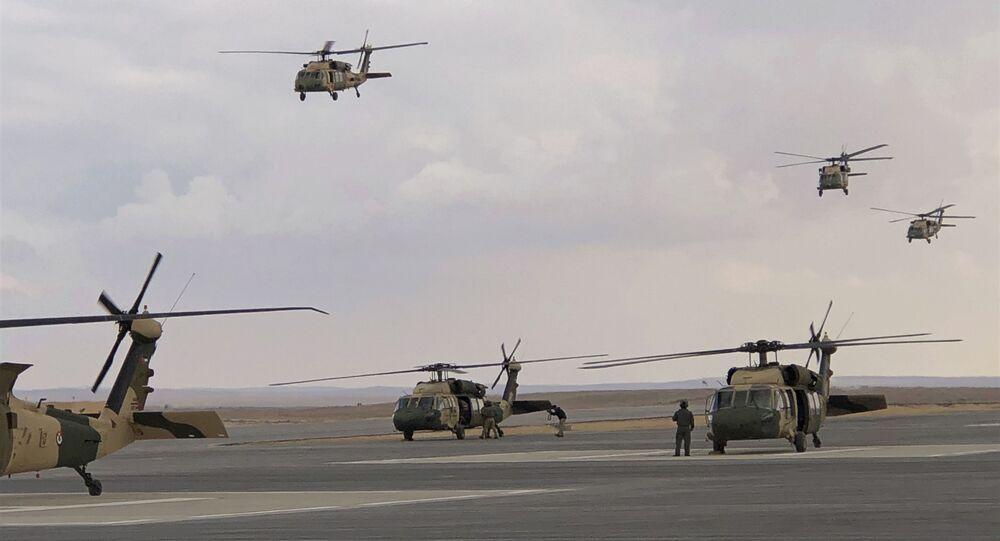 Área onde ocorreu explosão em Zarqa, na Jordânia, tem dezenas de bases militares