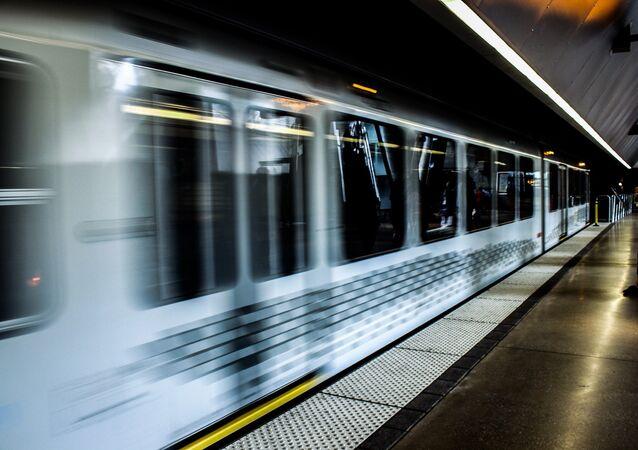 Trem de metrô (imagem referencial)