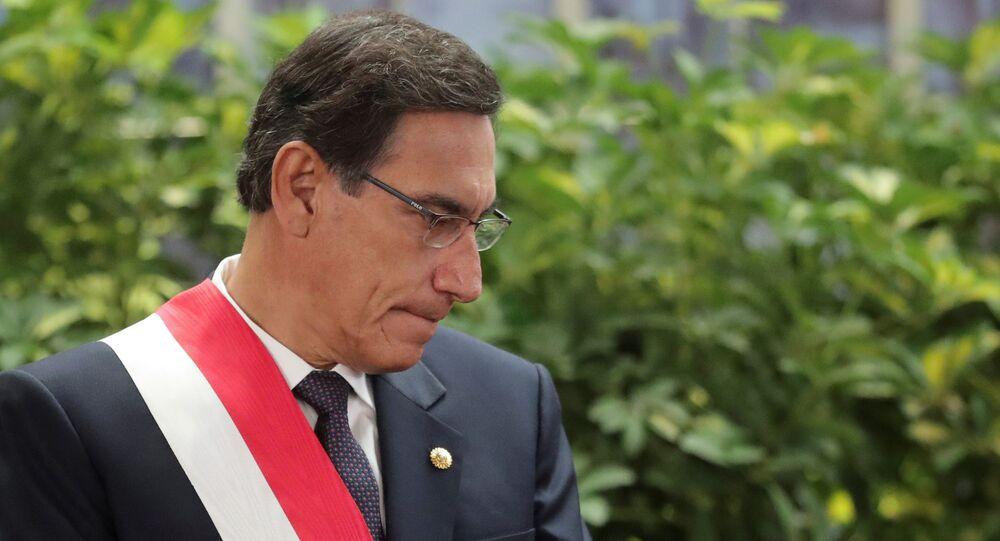 Presidente do Peru, Martín Vizcarra