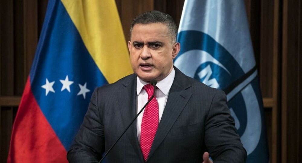 Procurador-geral da Venezuela Tarek William Saab
