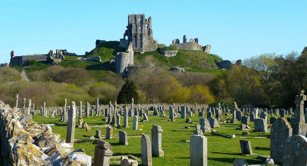 Cemitério medieval (imagem referencial)
