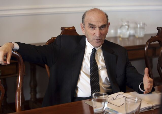 Conselheiro dos EUA para o Irã e a Venezuela, Elliot Abrams