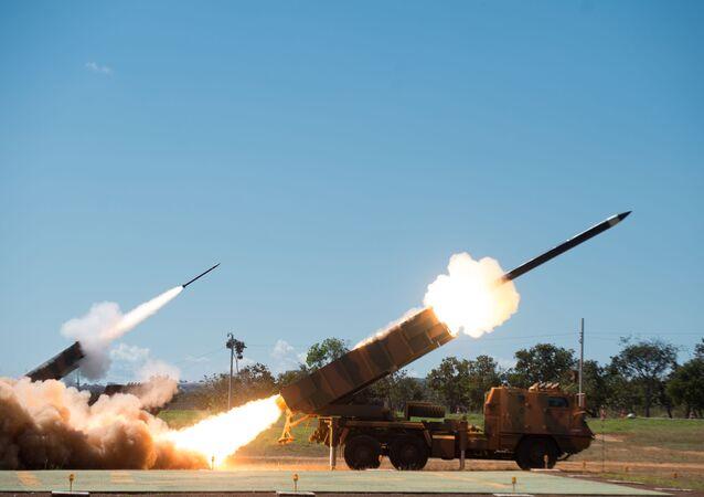 Exército recebe viaturas Astros versão MK-6 do projeto estratégico do Exército Astros 2020