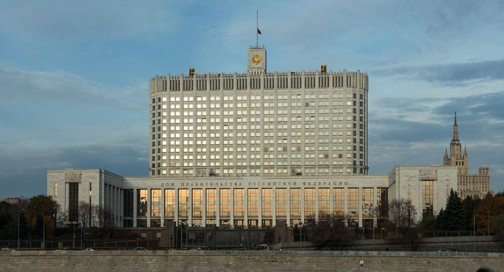 Casa do Governo da Rússia (foto de arquivo)