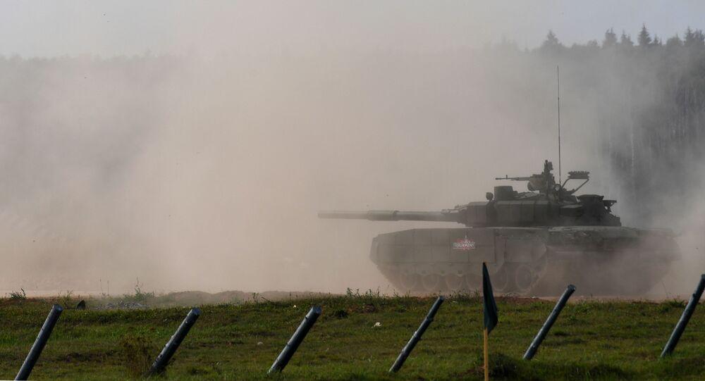 Tanque T-80BVM
