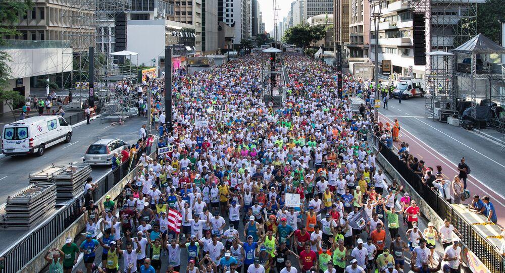 Corrida de São Silvestre.
