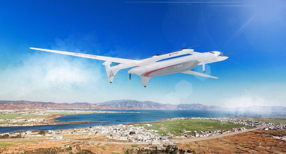 Drone de carga chinês V400 Albatross
