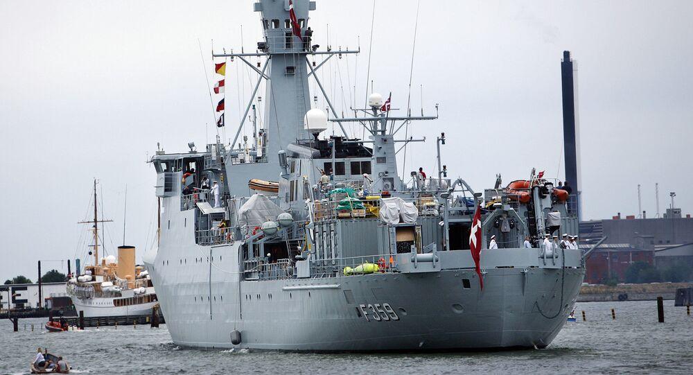 Marinha da Dinamarca (imagem referencial)