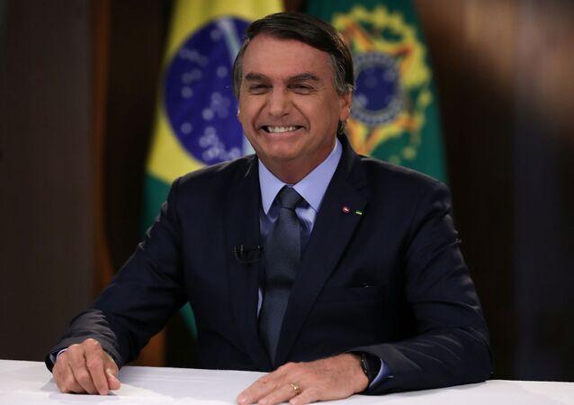 Presidente Jair Bolsonaro grava discurso a ser exibido na Assembleia Geral da ONU de 2020