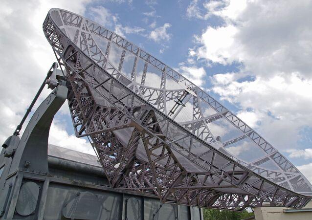Radar militar (imagem referencial)