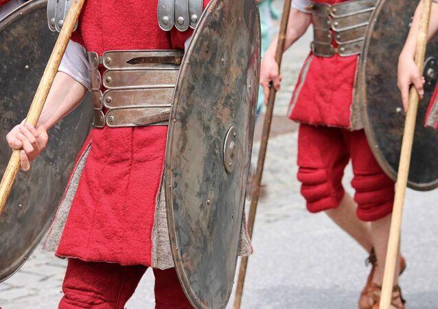 Armadura romana (imagem referencial)