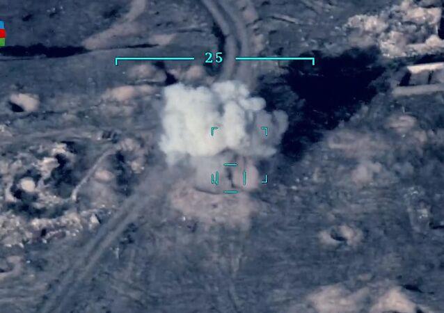 Combates armados em Nagorno-Karabakh