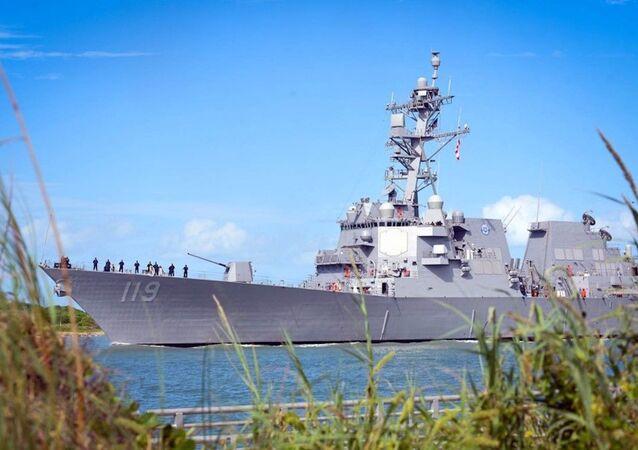 Destróier USS Delbert D. Black (DDG-119) da Marinha dos EUA