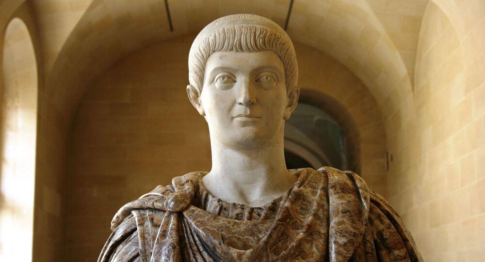 Imperador romano (imagem referencial)