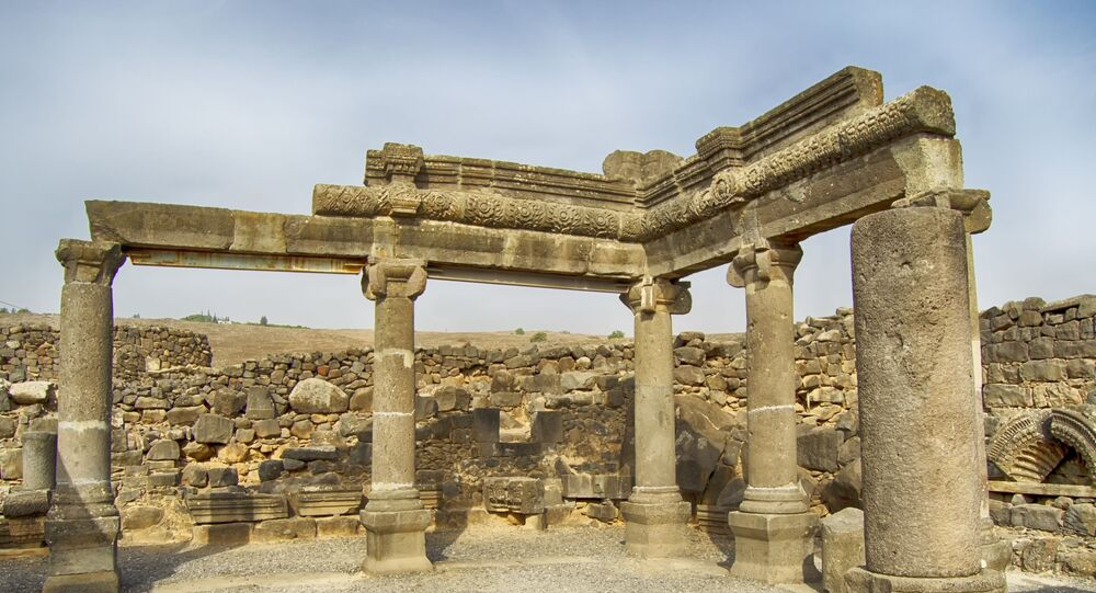 Ruínas arqueológicas (imagem referencial)